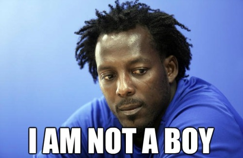 Vladimir Guerrero is not a boy.