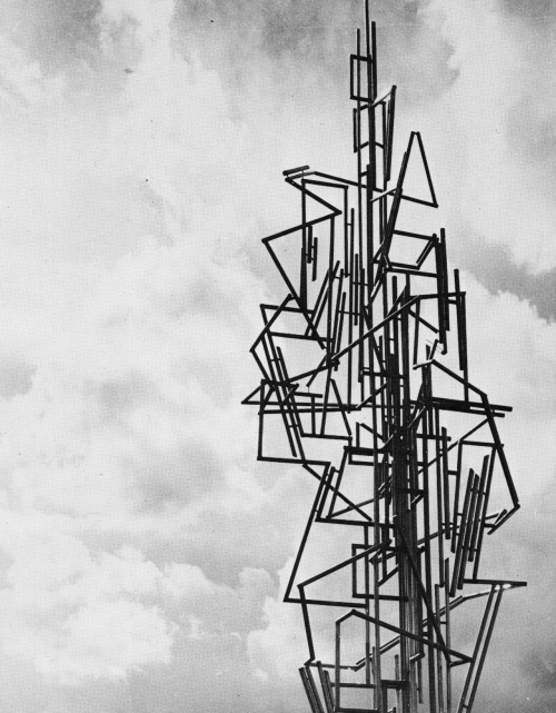 ANDRÉ BLOC SCULPTURE IN MARLY, FRANCE, 1960