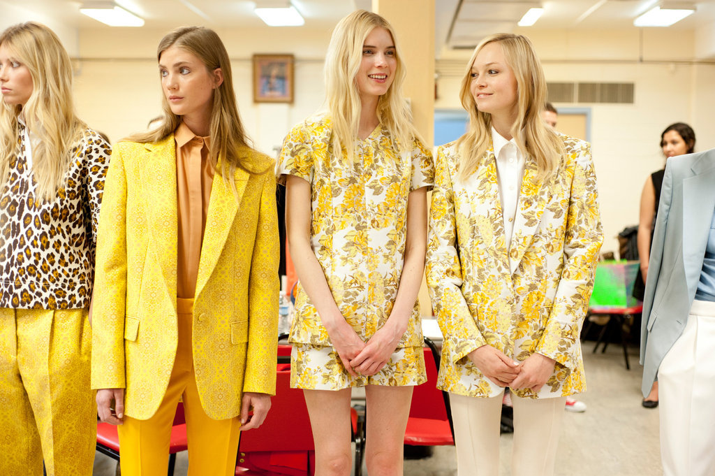 Stella McCartney resort in sunny shades of yellow.