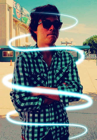 """Hey I'm Garrett Nickelsen from The Maine and you're watching Disney Channel"""
