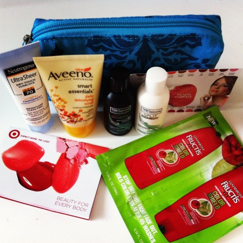 What's in the free Target's Summer Beauty Bag? The bag finally arrived. Check out my original post on this here