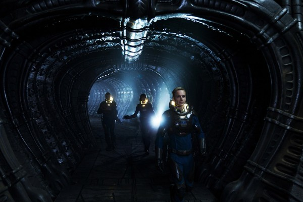 "Prometheus Sequel? Screenwriter Solves the Mystery of the Final Scene Source: entertainment.time.com #screenwriting #film #story ""Warning: Contains Spoilers The Prometheus debate rages on. Ridley Scott's sci-fi thriller did big business this past weekend at the box office, but it also sparked a sprawling online debate as fans tried to break apart and dissect its cryptic themes. Some fans have focused on the film's theories about human life (TIME's Jeffrey Kluger surveyed Scott's scientific grounding in a post published yesterday), while others were more interested in how Prometheus linked up to the existing Alien franchise. (Spoilers ahead) I rambled for about 1,000 words yesterday, on how I connected the plot's various points, in relation to the Alien universe. But still, at the end of the film, I was plagued by a big question that needed solving: In the very last shot of the film, we see a spaceship take flight away from an alien planet. It is being piloted by a robot — well, half a robot, as his torso was left behind on the planet surface — and he is accompanied by the last remaining survivor of a doomed human expedition. The robot says he can take her back to Earth. But, disillusioned and having just witnessed both the murder of her lover and the obliteration of her personal and professional belief structures, the doctor says that she'd rather use the spaceship to travel to the home world of whatever aliens ruined her life. Where was the ship ultimately heading, in that final shot? It's anybody's guess. (MORE: See TIME's complete Prometheus coverage) A few days before Prometheus opened, I had the chance to interview screenwriter Damon Lindelof, and I ended the Q&A (read his full thoughts on the movie here) with talk of that final scene. I promised not to publish his answers until the film had already opened. Here's the exchange: TIME: In that final scene, David wants to go to Earth, and Elizabeth wants to go to the alien home world. Where do you think they're going? Lindelof: I think they're going where she wants to go. His fundamental programming has been scrapped. Weyland [the man who built and programmed him] is dead and so now his programming is coming from God knows where. Is he being programmed by Elizabeth, or is it his own internal curiosity now that Weyland isn't telling him what to do any more? He's always been interested in Elizabeth, remember that: He's watching her dreams when she's sleeping in much the same way that he watches Lawrence of Arabia. He's a strange robot that has a curious crush on a human being, and when Weyland is eliminated, I think he is genuinely interested in what she's interested in. He reaches out partly for survival, but partly out of curiosity, and I think he's sincere that he'll take her wherever she wants to go. (Steve again): Which means, of course, that she's heading to the alien home world, in search of answers of why they created us, and then set out to destroy (or mutate) us. She's headed for a confrontation, just as the alien monsters set out to spread across the universe, where the Nostromo will find them. Everything's in motion — and a sequel can't be far off."""