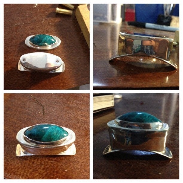 ashleydarling:  my gorgeous fine silver labret with removable chrysocolla cap from hearts on sleeve jewelry, can't wait to get it and wear it :) fine silver because clearly I'm too classy for sterling (Taken with Instagram)  Im sorry… If this was made in any other place than Loth Lorien I would be VERY SURPRISED.