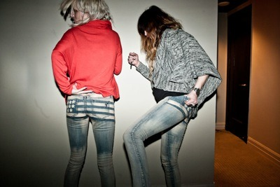 Jennifer's new jeans for Volcom!