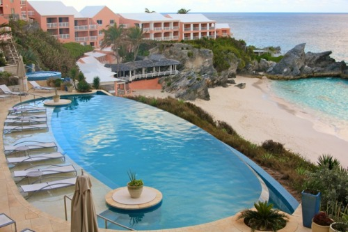 Balcony View at Reefs Resort from: Bermuda Photo Gallery