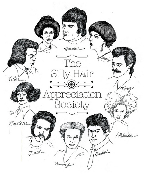 kungfutoast:  Silly Hair Appreciation Society by beth_austin on Flickr. Beth Austin.  Oh Beth, you are so amazing.