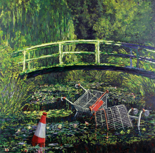 ourfavartists:  Show Me The Monet Banksy