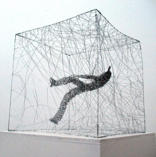 Wire Sculptures by Barbara Licha | Colossal