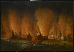 The Fire in the Saint-Jean Quarter, Seen Looking Westward, 1848Joseph Légaré, Canadian, 1795 - 1855Oil on canvas, 151.1 x 220.3 cmPurchase with assistance from Wintario, 1976© 2012 Art Gallery of Ontario