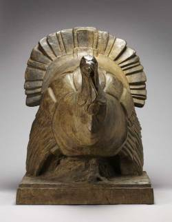 Turkey, c. 1932Frances Norma Loring, Canadian, 1881 - 1968Bronze, 87.5 x 66.5 cmGift of the Estates of Frances Loring and Florence Wyle, 1983© 2012 Art Gallery of Ontario