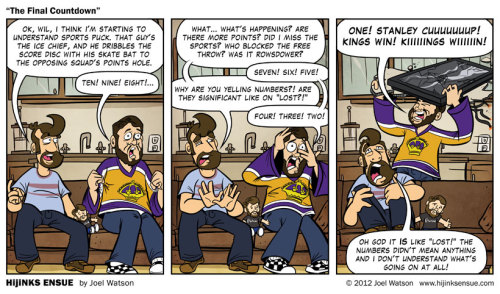 wilwheaton:  (via HijiNKS ENSUE – A Geek Comic - The Final Countdown)