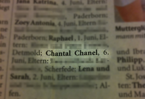 Cha-Cha - vermutlich ist Chanel Kind No. 5 via Gero Chantal Chanel