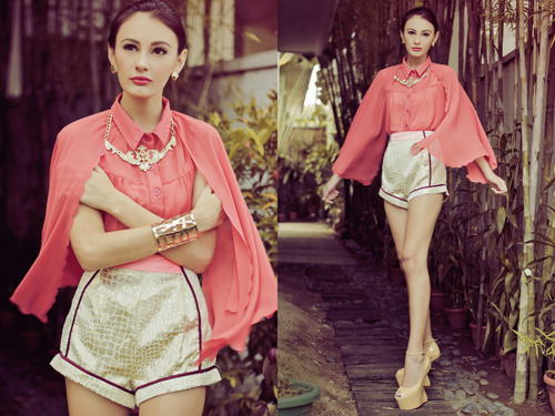 Tricia Gosingtian Fashion Photography PINKaholic