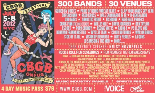 CBGB Fest!!! Madball, Sick of it All, Agnostic Front, Murphy's Law, Cro Mags, Fishbone… #HardcoreFamily (I'd love to go back home 4 this, but I may actually stay down here & be an extra in the CBGB film!)
