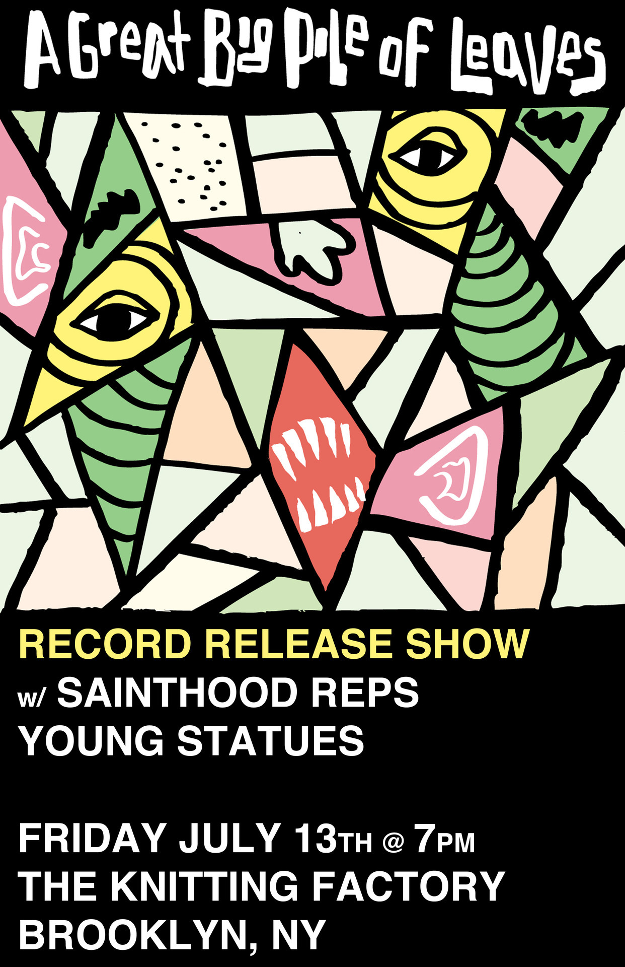 Tickets are now on sale for our record release show w/ Sainthood Reps and Young Statues! $10.00 advance and $12.00 at the door!CLICK HERE FOR TICKETSCLICK HERE FOR SHOW INFO