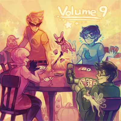 lazylaz:  Hey guys! I had the awesome opportunity to do the cover for volume 9. Now go listen to some great music!