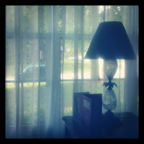 Looking out the window (Taken with Instagram)