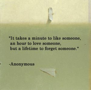 It takes an hour to love someone but a lifetime to foreget someone | FOLLOW BEST LOVE QUOTES ON TUMBLR  FOR MORE LOVE QUOTES