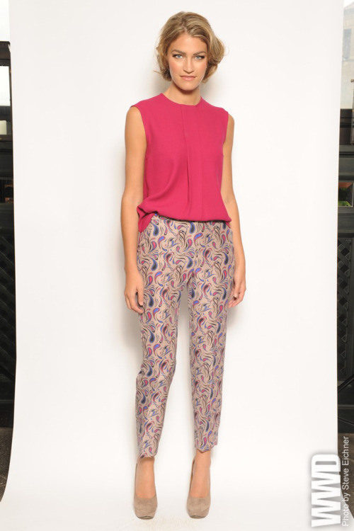 "womensweardaily:  Nonoo Resort 2013 ""Quirky and frivolous"" is how Misha Nonoo described her resort collection. For more"