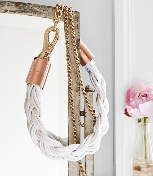 D.I.Y. Hardware Rope Necklace (image: countryliving)