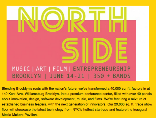 We are very excited to participate in the Northside Entrepreneurship Festival this Thursday and Friday.  Tenants of The Yard will be working and demonstrating at booth 15.  Come say hi!