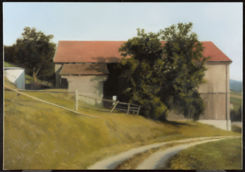 Scheune/Barn no. 549/1, 1983Gerhard Richter, German, born 1932Oil on canvas, 70.1 x 100.1 cmPurchase, 1985© 2012 Art Gallery of Ontario