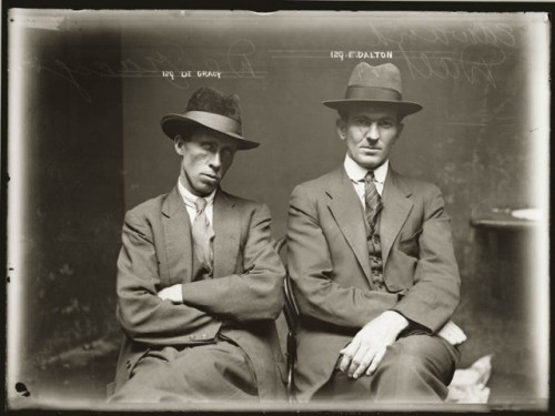 laughingsquid:  Mugshots of Wonderfully Dapper 1920s Australian Criminals