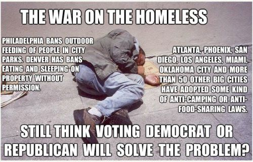 The War On The Homeless