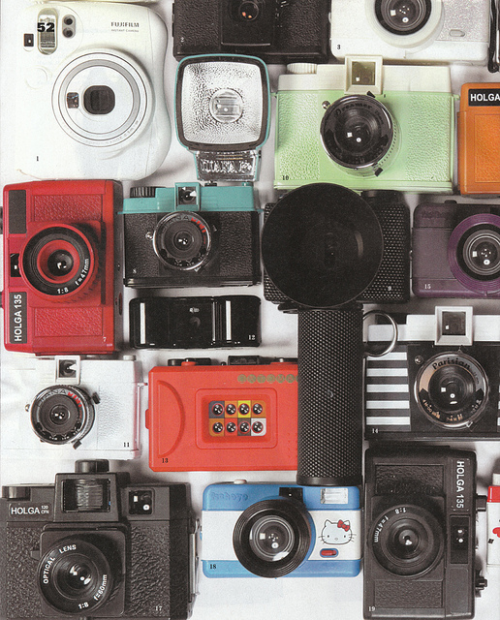 under-a-r0ck:  omg i need to do this with my camera collection ♡