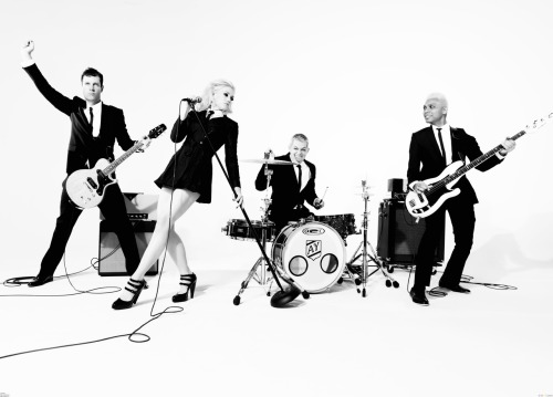 "In No Doubt news:  The new LP is called Push and Shove.It will be released on Sept. 25, 2012.The first single is ""Settle Down.""It will debut on Jul. 16, 2012.A video, directed by Sophie Muller, will come out in July.The band will perform live at 2012 Teen Choice Awards on Jul. 22."