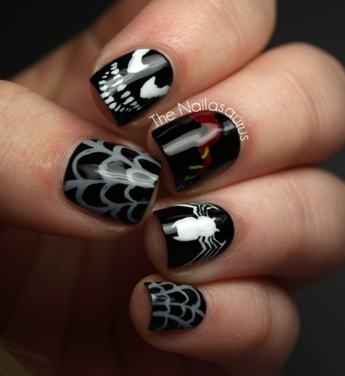thenailasaurus:  The Nailasaurus: Heroes vs Villains Day 1… Marvel Villain