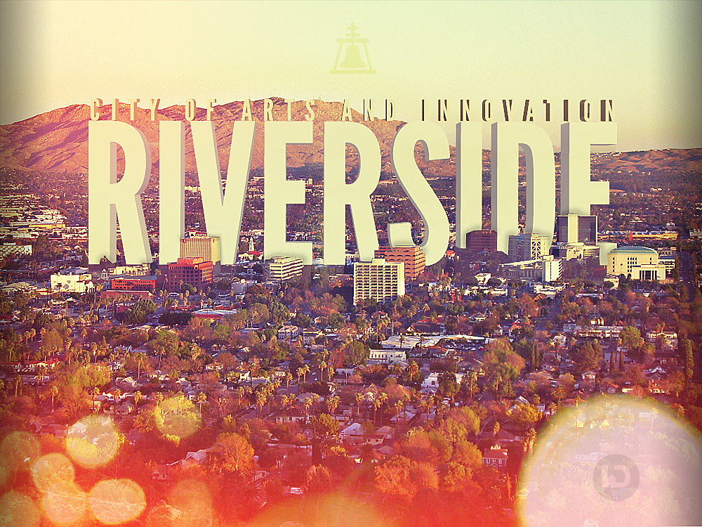 rawbdz:  A photo manipulation promoting the city of Riverside, California USA