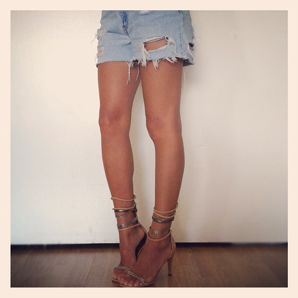 The Isabel Marant Heels  (image: songofstyle)