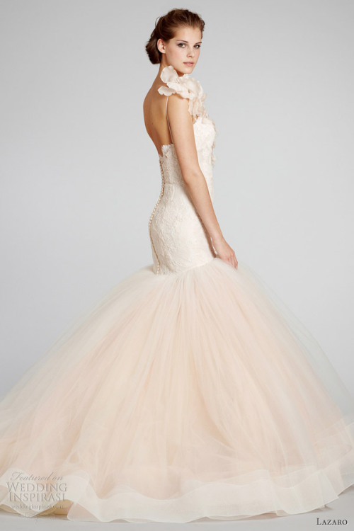 (via Lazaro Fall 2012 Wedding Dresses | Wedding Inspirasi)