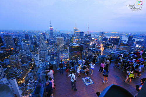Summer in the city new-yorkcity:  Top of the Rock.