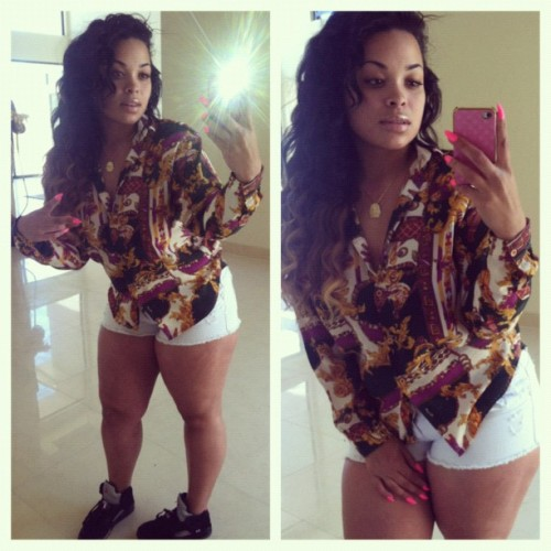 "foreverinlove-ff:  Heather Sanders @Hotyella817 @hotyella(Taken with instagram) ""Heavie"" She's My Inspiration :) Thick and Beautiful"