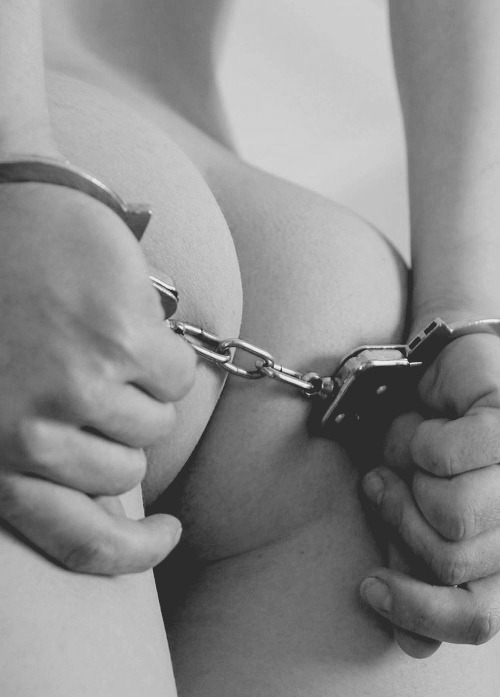 desires-andso-much-more:  Handcuffed and ready