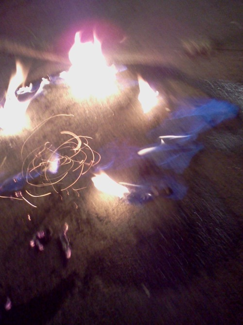 butane on pavement