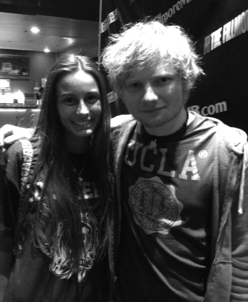 Ed Sheeran and I ED FUCKING BRILLIANT SHEERAN YES