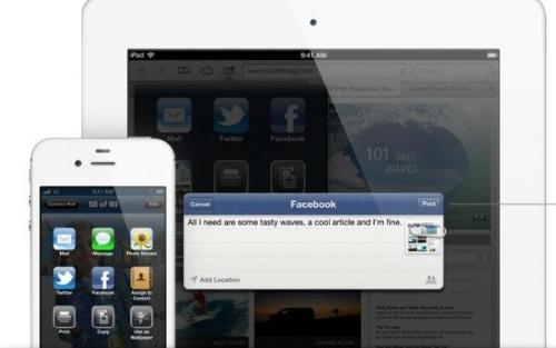 Will iPhones and iPads with built-in Facebook lead to oversharing? - http://on.mash.to/LH5ESu