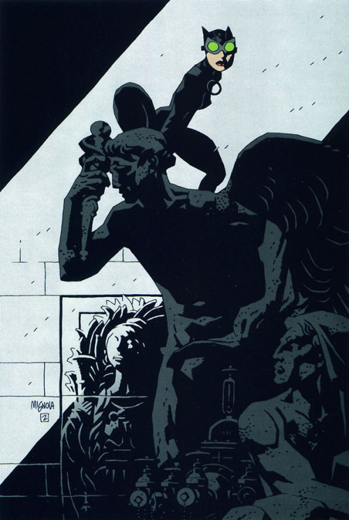 midtowncomics:  Catwoman by Mike Mignola