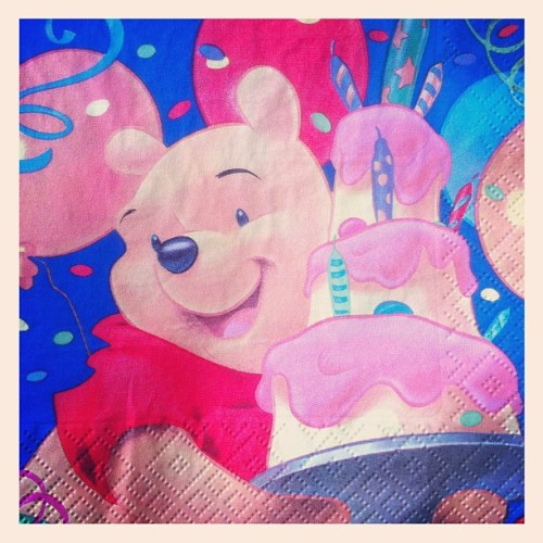 Салфеточка #disney #winniethepooh (Taken with Instagram)