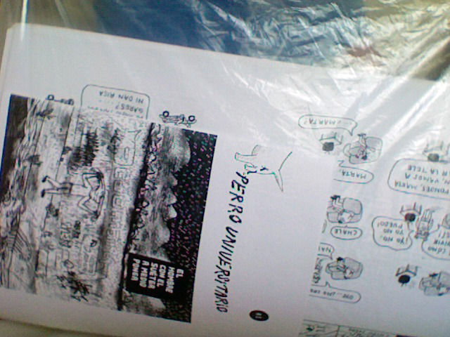 bunch of baby zines, warm for the photocopying, awating to be folded n stapled!!!!!!