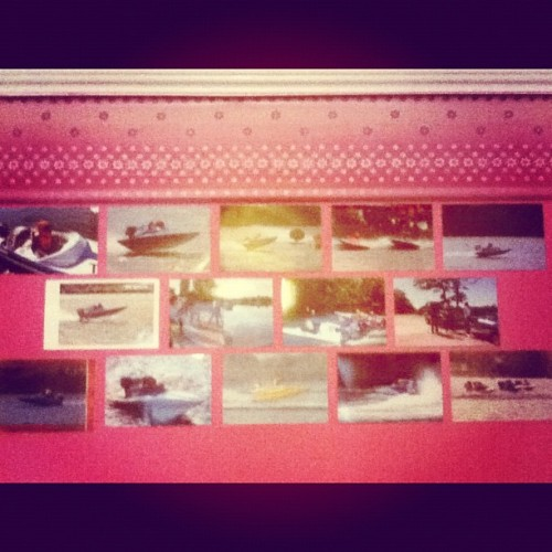 my racing wall so far :)  (Taken with Instagram)