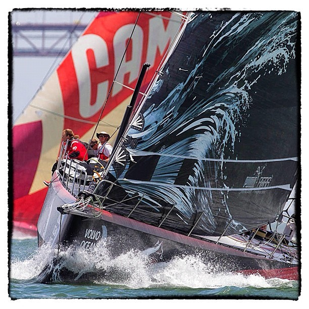 #puma ocean racing leaving #lisbon #volvooceanrace #vor #sailing Leg 8 (Taken with Instagram)