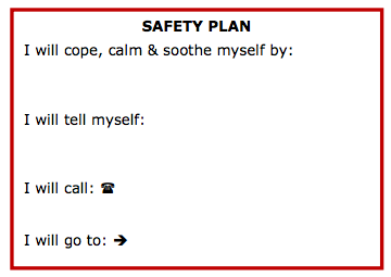 anatomy-of-recovery:  Safety Plan Printable Wallet Cards