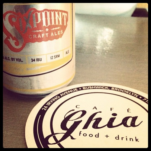 cafeghia:  Coaster & photo by @jollyolchap for Design That Talks (Taken with Instagram at Cafe Ghia)  I love Cafe Ghia so much. Their new coasters are nicely executed!