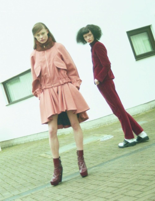 Kenzo á la Maison, Flo Dron and Ania K by Atlanta Rascher for Tank #56