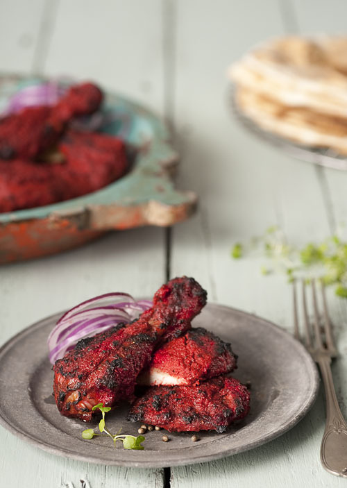 Tandoori chicken.