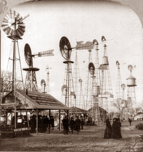 20thcenturypix:  taigas-vintage-stuff:  windmill sales at the 1904 World's Fair; St. Louis, MO  1904
